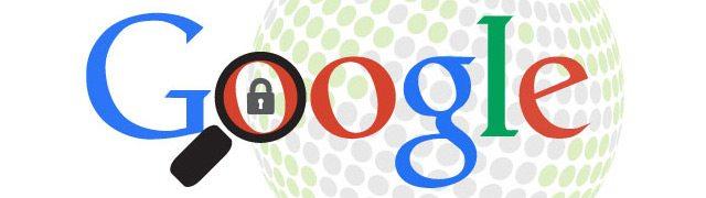 Encryptage données Google - Activités de recherche