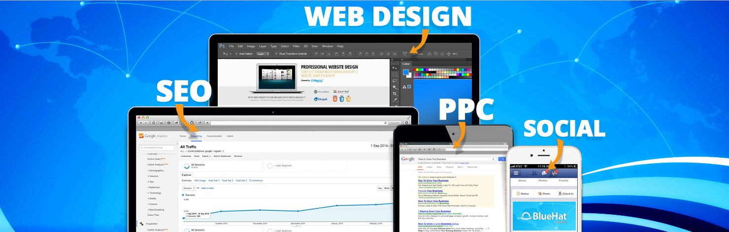 Digital Marketing—SEO, Web Design, PPC, Social Media